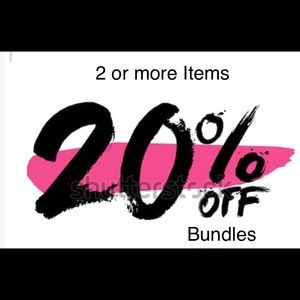 20% Off on 2 or more items